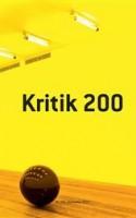 Åbner KRITIK # 200 og finder ingen litterær kritik endsige meget lidt litterær metakritik og tænker 'øv'. Åbner dagbladene og finder meget lidt litterær kritik og fyldes med referater, reportager og klistermærkestjerner og tænker 'satans'.