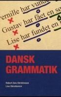DANSK GRAMMATIK giver en komprimeret og meget velstruktureret oversigt over grammatikkens grundelementer, og er derfor kun en bog for indviede. For det er krævende stof.