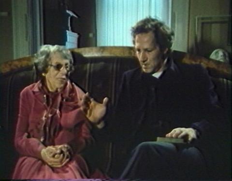 Werner Herzog og Lotte Eisner. Foto: ukendt.