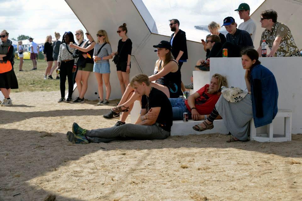 Roskilde-ramte tilskuere. Foto udlånt af forlaget.
