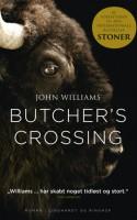 Efter STONER blev revet ned fra hylderne, 50 år efter dens udgivelse, udgives nu en tidligere roman af John Williams. Denne tidløse historie om det vilde vestens håbløse vidders effekt på en ung mands udvikling er bestemt værd at læse.