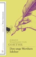 Stakkels Werther. Lidelser og lidenskab flyder ud over papiret, når Goethe, med en hel generation i ryggen, formløst og inkonsekvent prøver at mærke kærligheden gennem sin egen pen.