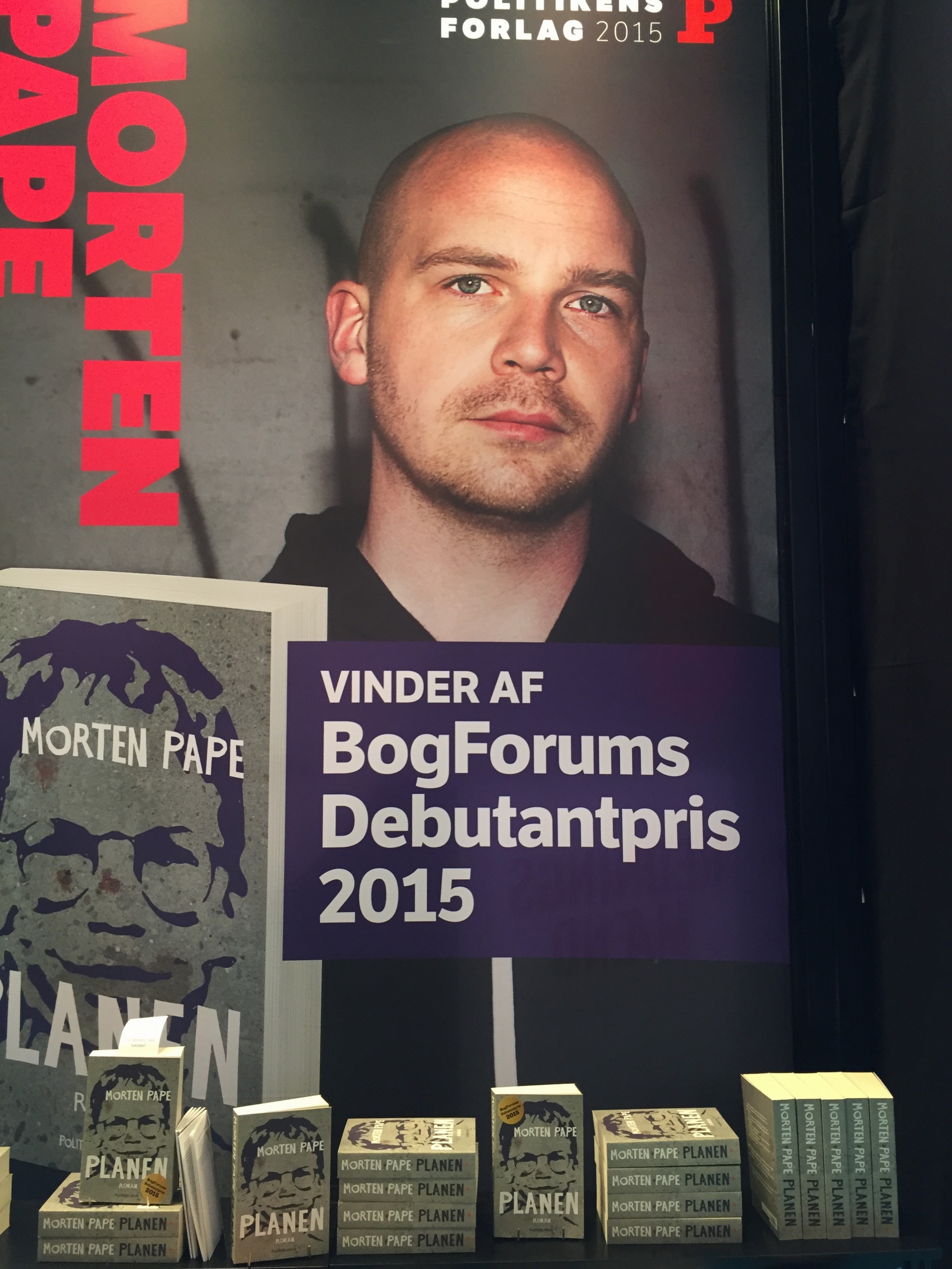 Morten Pape, BogForum 2015